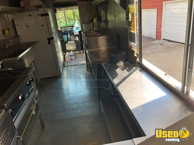 1998 Gmc All-purpose Food Truck Propane Tank Tennessee Gas Engine for Sale - 8