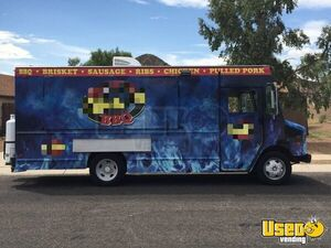 1998 Gmc P3500 Barbecue Food Truck Removable Trailer Hitch Arizona Gas Engine for Sale