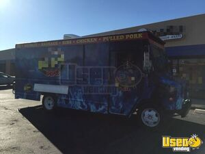 1998 Gmc P3500 Barbecue Food Truck Spare Tire Arizona Gas Engine for Sale