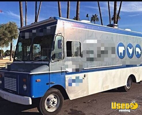 1998 P30 Step Van Kitchen Food Truck All-purpose Food Truck Air Conditioning Arizona Diesel Engine for Sale - 2