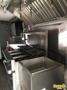 1998 Step Van Food Truck With Vw Cocktail Van And Open Bbq Smoker Trailer All-purpose Food Truck Exhaust Hood Michigan for Sale