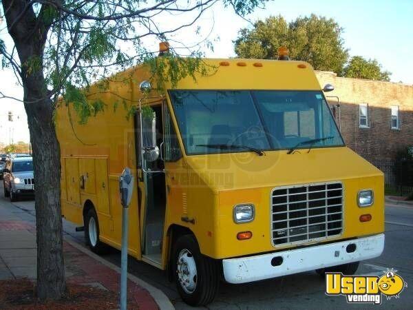 0142c8c2c1 International Step Van Truck