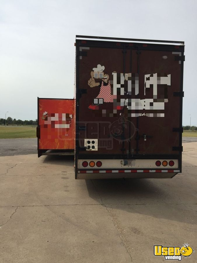 1999, 2008 Kentucky All-purpose Food Trailer Concession Window Oklahoma Diesel Engine for Sale - 3