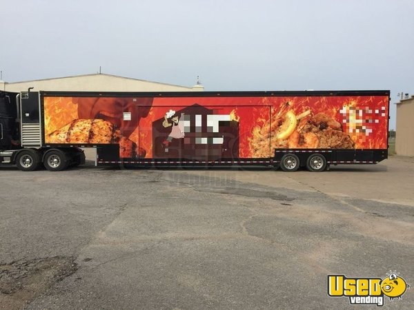1999, 2008 Kentucky All-purpose Food Trailer Oklahoma Diesel Engine for Sale