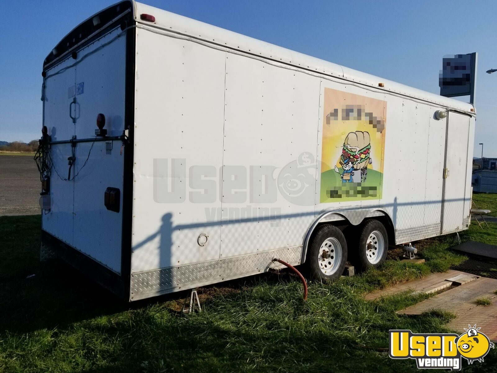 1999 All-purpose Food Trailer Cabinets Oregon for Sale - 3