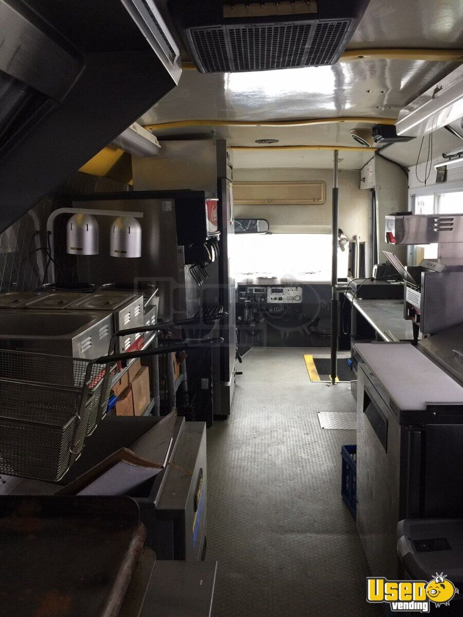 1999 All-purpose Food Truck Concession Window Kansas Diesel Engine for Sale - 3