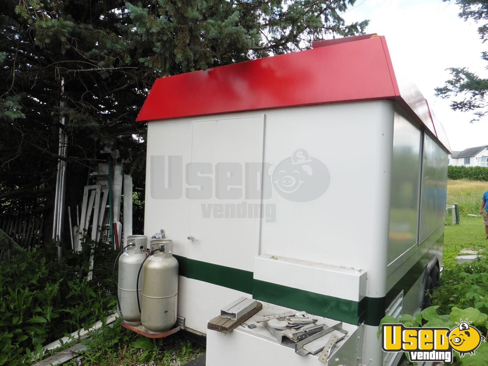 1999 Century All-purpose Food Trailer Awning Vermont for Sale - 3