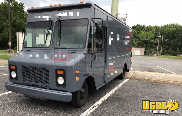 1999 Chev Step Van All-purpose Food Truck New Jersey Gas Engine for Sale