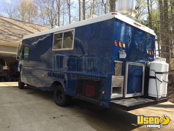 1999 Cheverolet G 3500 Food Truck Concession Window North Carolina Gas Engine for Sale - 2