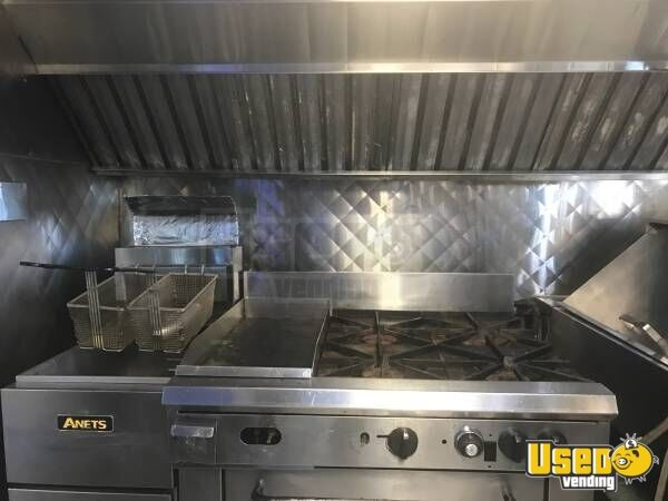 1999 Cheverolet G 3500 Food Truck Diamond Plated Aluminum Flooring North Carolina Gas Engine for Sale - 5