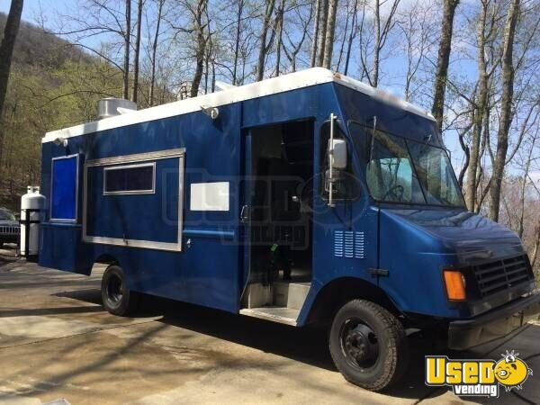 1999 Cheverolet G 3500 Food Truck North Carolina Gas Engine for Sale