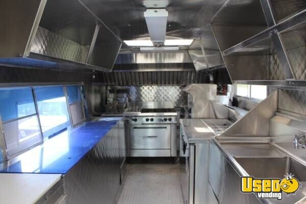 1999 Cheverolet G 3500 Food Truck Stainless Steel Wall Covers North Carolina Gas Engine for Sale - 3