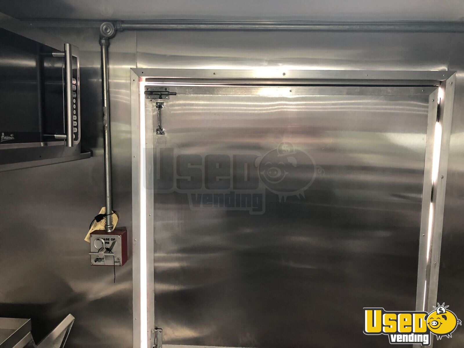 1999 Chevrolet P30 Step Van Food Truck Interior Lighting Connecticut Diesel Engine for Sale - 22