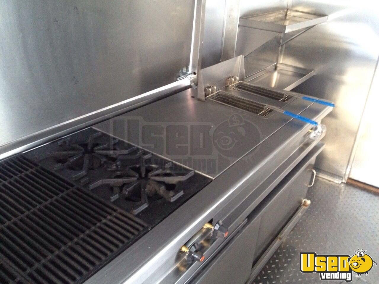 1999 Chevy All-purpose Food Truck Diamond Plated Aluminum Flooring Florida Gas Engine for Sale - 6
