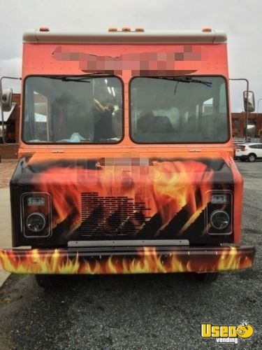 1999 Chevy Grumman All-purpose Food Truck Cabinets District Of Columbia Diesel Engine for Sale - 4