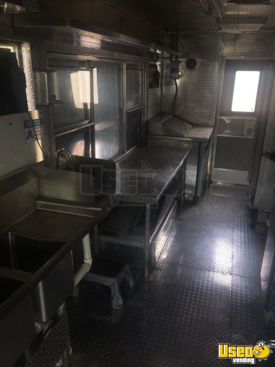1999 Chevy Grumman All-purpose Food Truck Prep Station Cooler District Of Columbia Diesel Engine for Sale - 10