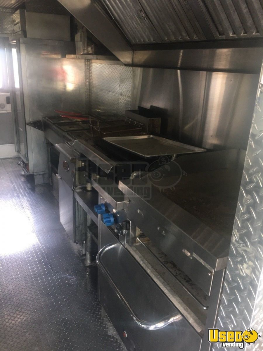 1999 Chevy Grumman All-purpose Food Truck Refrigerator District Of Columbia Diesel Engine for Sale - 9