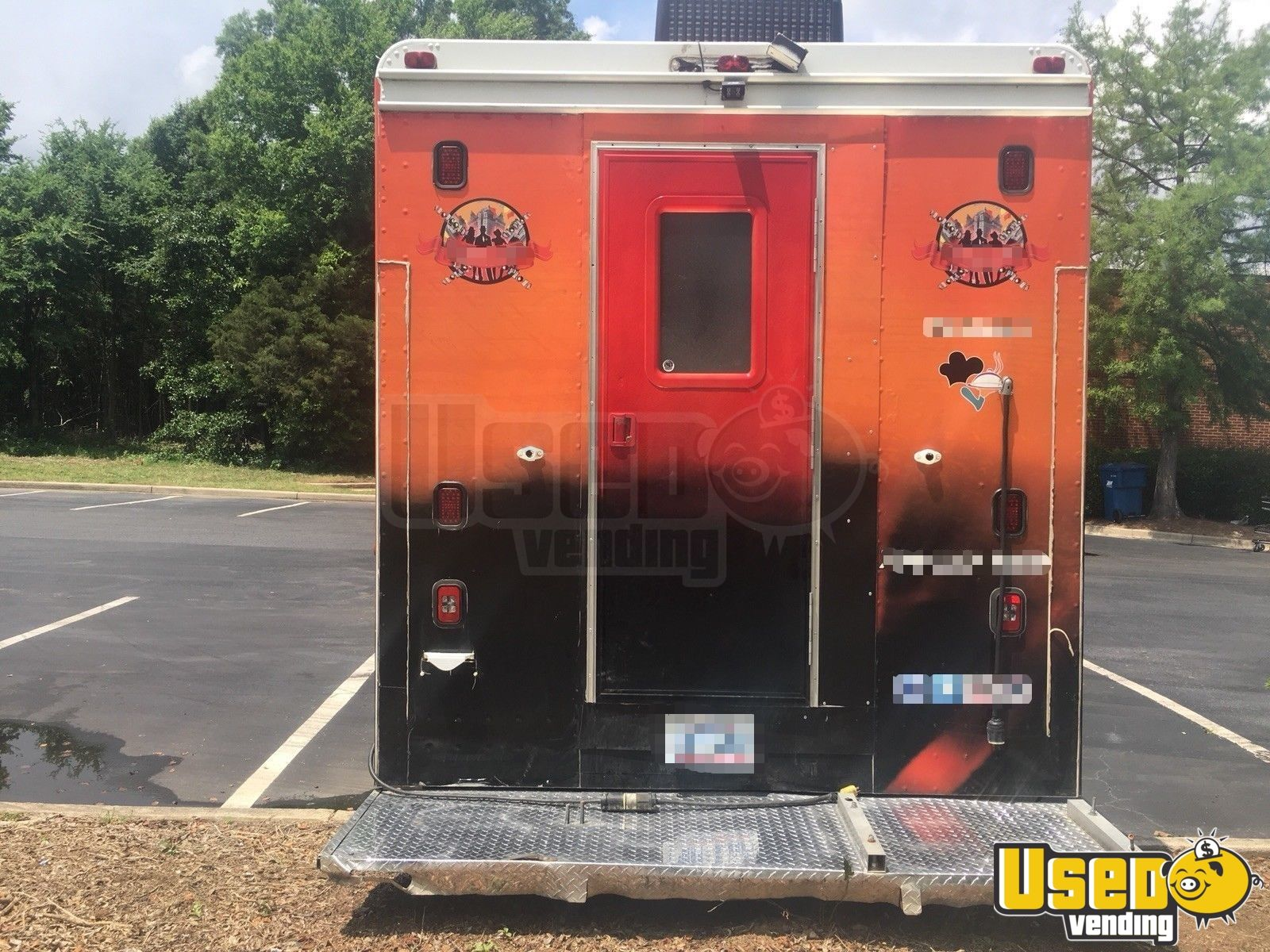 1999 Chevy Grumman All-purpose Food Truck Stainless Steel Wall Covers District Of Columbia Diesel Engine for Sale - 5