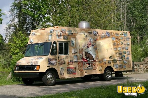 for sale used chevy food truck in michigan mobile kitchen. Black Bedroom Furniture Sets. Home Design Ideas