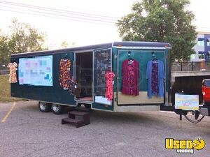 8' x 24' Used Mobile Boutique Marketing Trailer for Sale in Illinois!!!