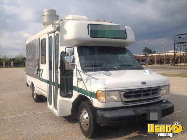 1999 E-350 Van Kitchen Food Truck All-purpose Food Truck Air Conditioning Texas Gas Engine for Sale - 2
