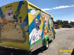 1999 Food All-purpose Food Truck Air Conditioning Florida Gas Engine for Sale