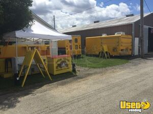 1999 Food Concession Trailer Concession Trailer Concession Window Illinois Gas Engine for Sale