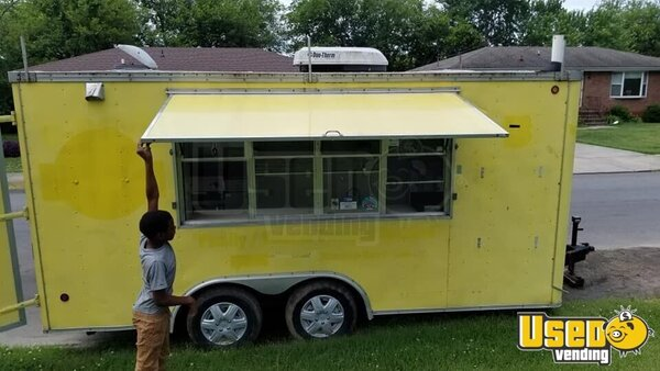 1999 Food Concession Trailer Concession Trailer Tennessee for Sale