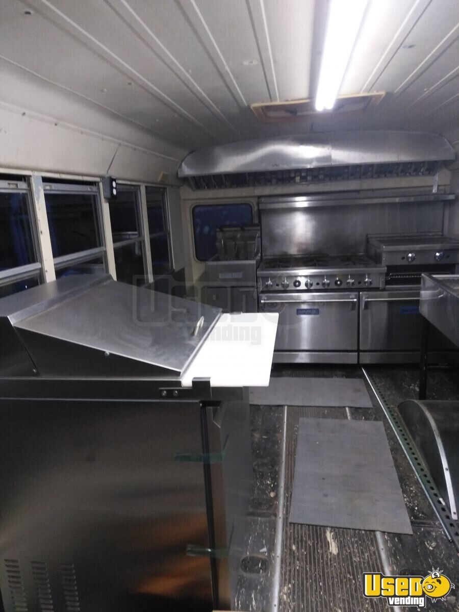 1999 Food Truck Concession Window North Carolina Diesel Engine for Sale - 3