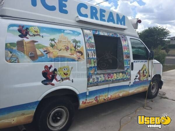 Used Food Truck For Sale >> Chevy Ice Cream Truck | Ice cream Van for Sale in Texas