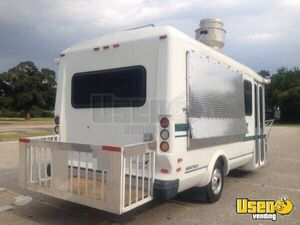 1999 Ford E350 All-purpose Food Truck Diamond Plated Aluminum Flooring Texas Gas Engine for Sale