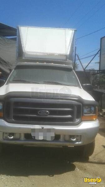 1999 Ford F250 Super Duty Food Truck Concession Window California Gas Engine for Sale - 3