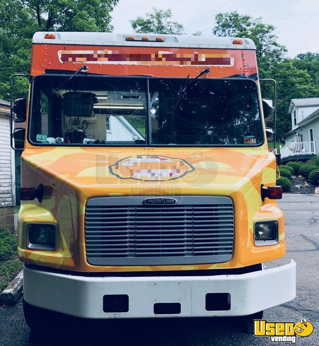 1999 Freightliner Mt-45 Food Truck Insulated Walls West Virginia Diesel Engine for Sale - 4