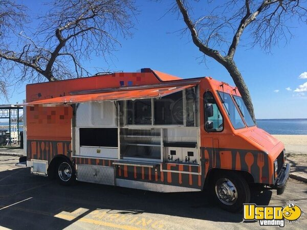 1999 Gmc 1900 All-purpose Food Truck Connecticut Gas Engine for Sale