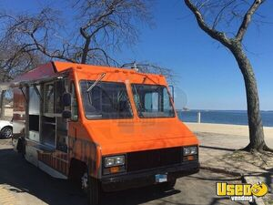 1999 Gmc 1900 All-purpose Food Truck Diamond Plated Aluminum Flooring Connecticut Gas Engine for Sale
