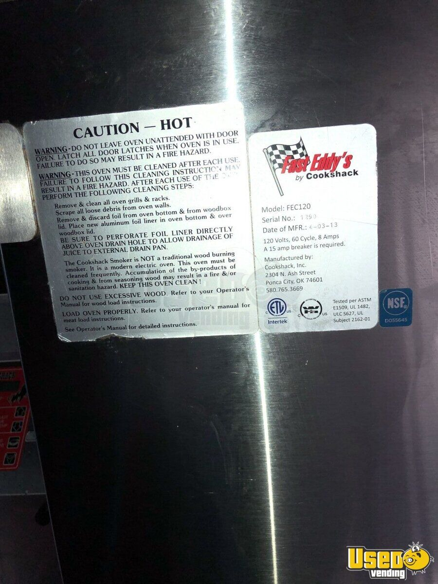 1999 Gruman Utilimaster 22' Barbecue Food Truck Bbq Smoker Ontario Gas Engine for Sale - 14