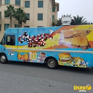 1999 Mwv Kitchen Food Truck All-purpose Food Truck Concession Window Florida Diesel Engine for Sale