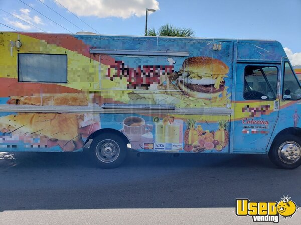1999 Mwv Kitchen Food Truck All-purpose Food Truck Florida Diesel Engine for Sale