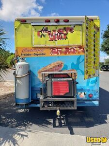 1999 Mwv Kitchen Food Truck All-purpose Food Truck Spare Tire Florida Diesel Engine for Sale