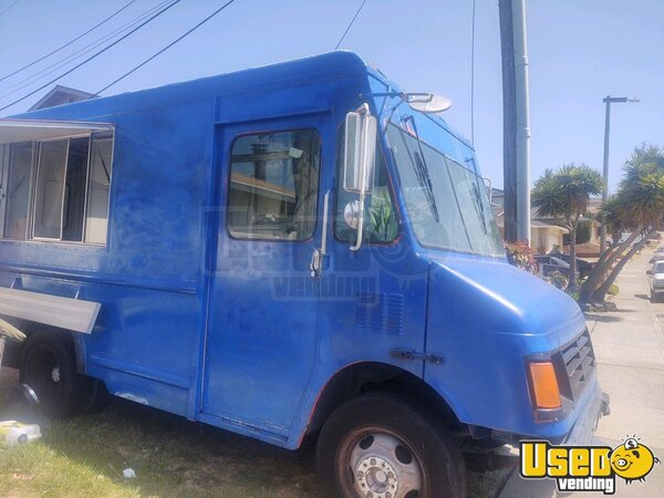 1999 Step Van Ice Cream And Juice Truck Ice Cream Truck California Gas Engine for Sale