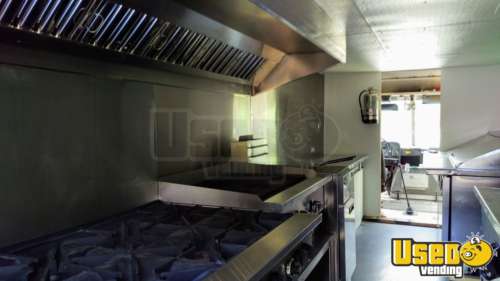 1999 Step Van Kitchen Food Truck All-purpose Food Truck Shore Power Cord Colorado Diesel Engine for Sale - 7