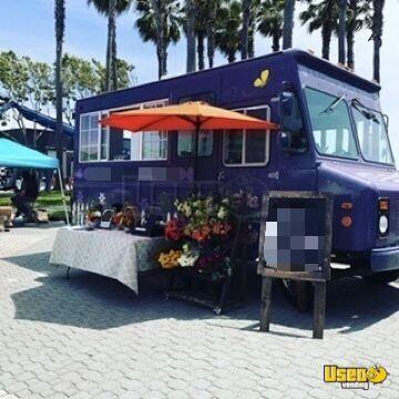 1999 Workhorse Step Van Mobile Flower Shop Other Mobile Business Air Conditioning California Gas Engine for Sale - 2