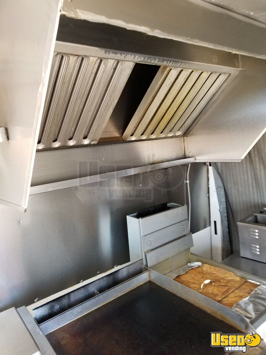 2 Food Concession Trailer Kitchen Food Trailer Spare Tire New Mexico for Sale - 3