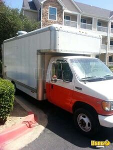 2000 17' E-350 Van Kitchen Food Truck All-purpose Food Truck Air Conditioning Texas Gas Engine for Sale