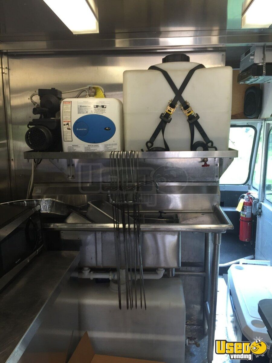 2000 Chevrolet P30 Food Truck Insulated Walls North Carolina Gas Engine for Sale - 6