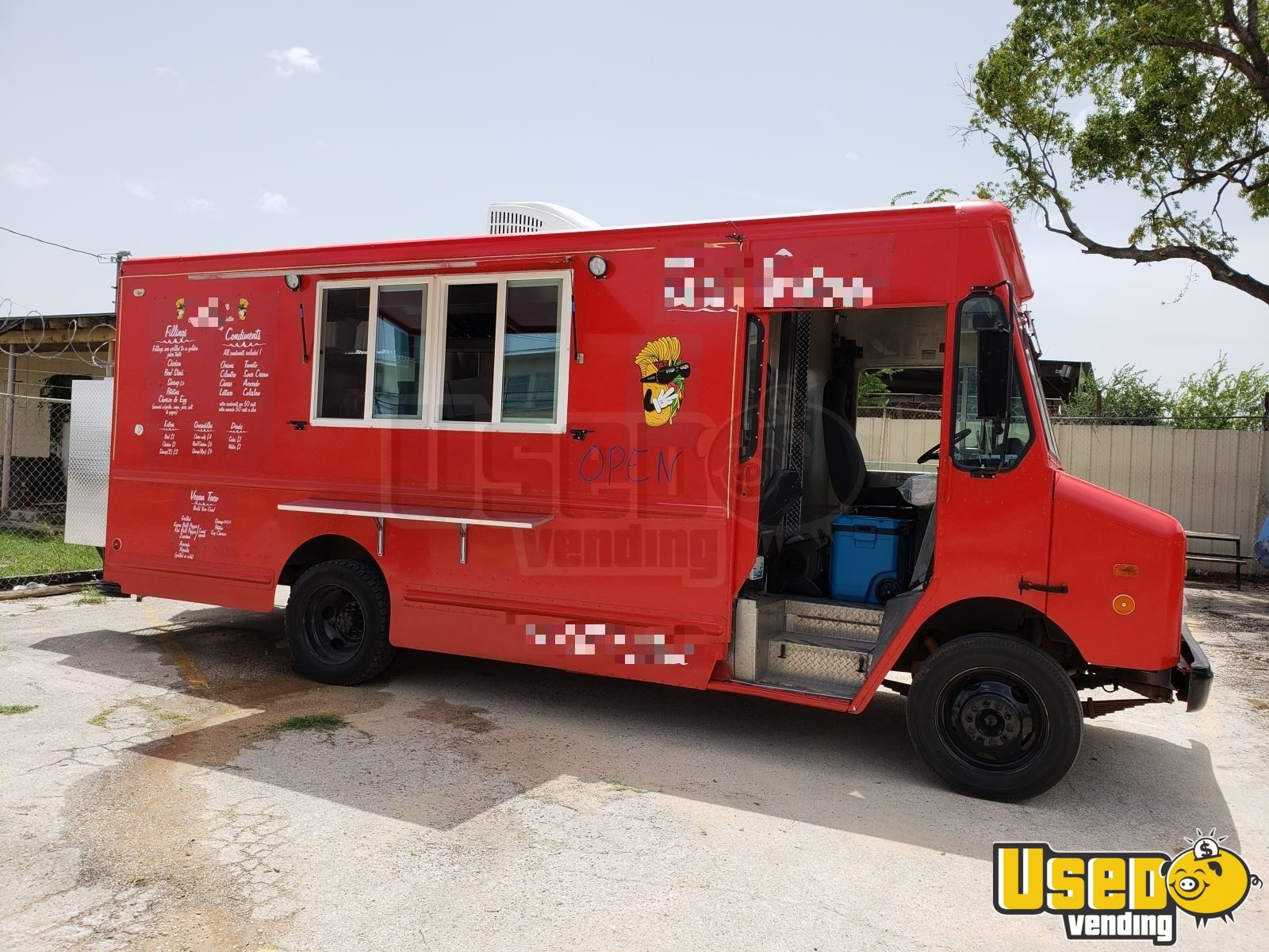 2000 Chevy Workhoarse All-purpose Food Truck Air Conditioning Texas Gas Engine for Sale - 2