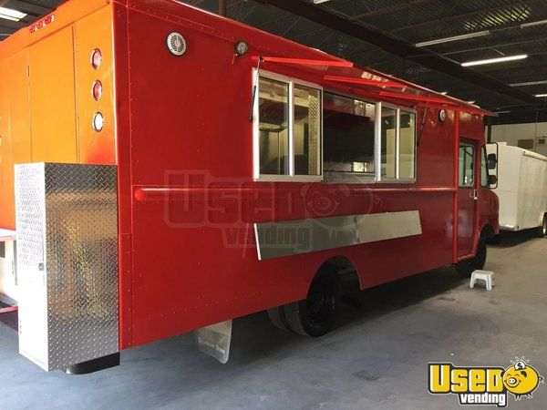 2000 Chevy Workhoarse All-purpose Food Truck Concession Window Texas Gas Engine for Sale