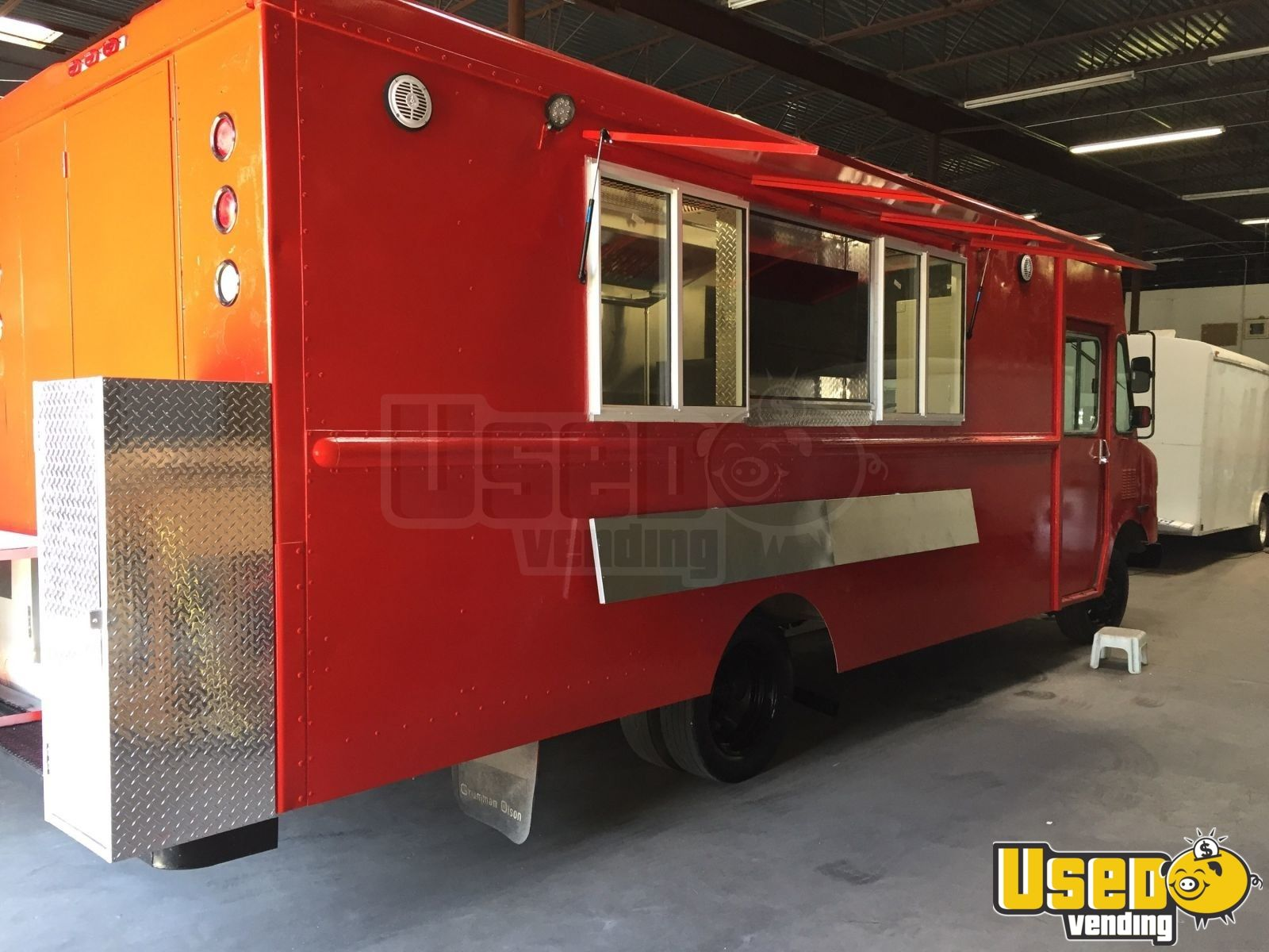 2000 Chevy Workhoarse All-purpose Food Truck Concession Window Texas Gas Engine for Sale - 3
