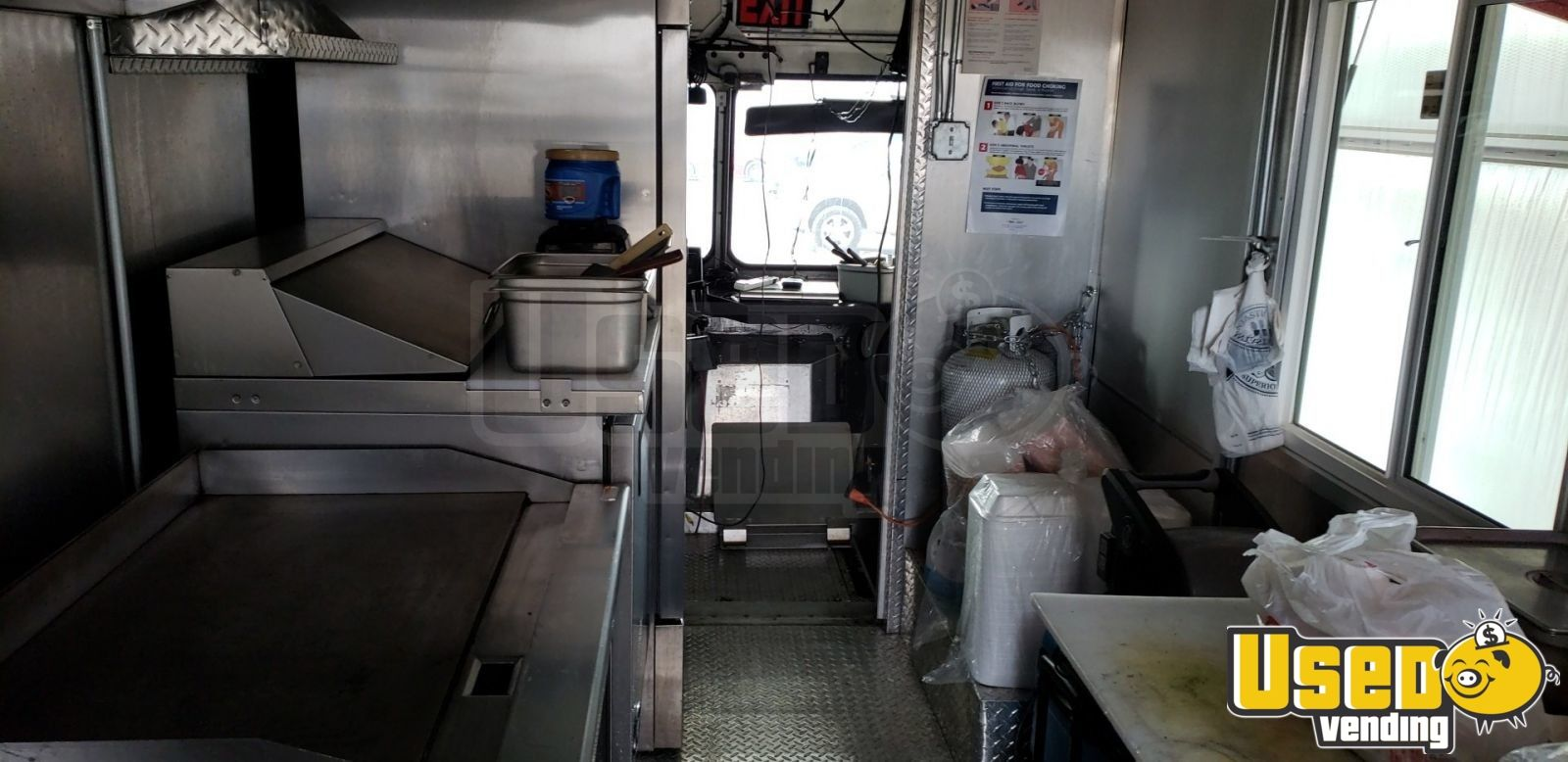 2000 Chevy Workhoarse All-purpose Food Truck Exterior Customer Counter Texas Gas Engine for Sale - 8