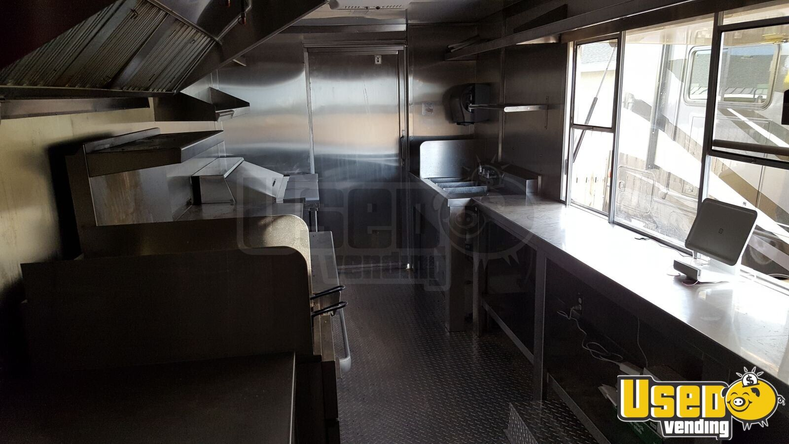 2000 Chevy Workhorse All-purpose Food Truck Concession Window Arizona Gas Engine for Sale - 3